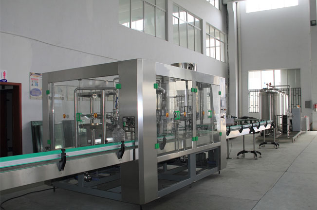 LCGF series 3-6L drink water rinsing filling capping line