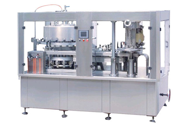 Carbonated drink Can filling sealing 2 in 1 machine